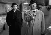 """Blier et Gabin dans """"Le cave se rebiffe"""" (1961)"""